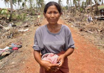 Cyclone au Myanmar (Birmanie)