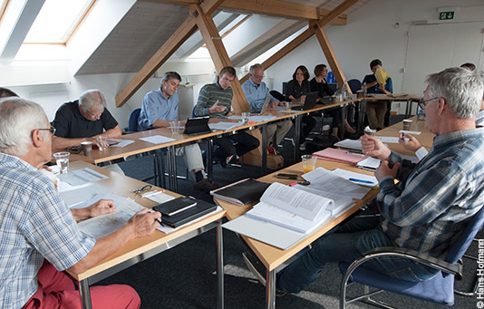 International Project Committee meeting, one of the governing bodies at Swiss Solidarity