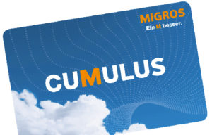 You can also donate your Migros Cumulus points