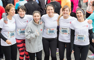 Organize your own fundraising campaign: A team in the Geneva City Run