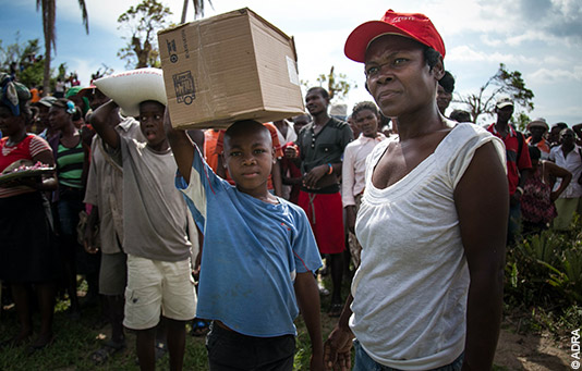 Swiss Solidarity works with 25 partner relief organizations abroad.