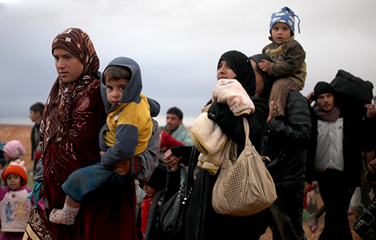 Flüchtlinge Jordanien