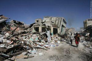 Le tremblement de terre en Haïti en 2010