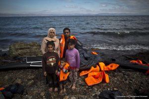 La crise des réfugiés en 2015