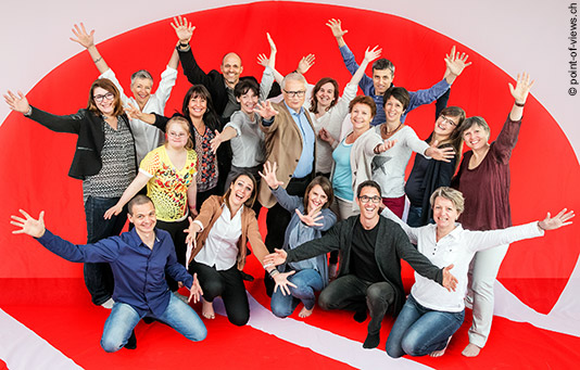 Il team della Catena della Solidarietà.