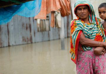 Asie du Sud : graves inondations après la mousson