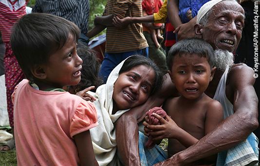 Aide d'urgence pour les Rohingya