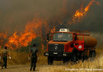 Incendies en Grèce et dans d'autres pays européens
