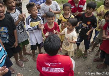 Tsunami en Indonésie : 10 millions de francs récoltés