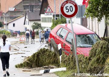 RTN se mobilise pour les personnes affectées par les violents orage au Val-de-Ruz