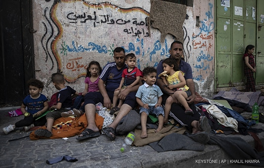 Aide d'urgence pour les victimes du conflit au Moyen-Orient