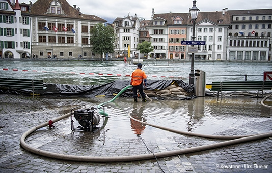 Catastrophes Naturelles en Suisse : Soutien grâce au fonds permanent
