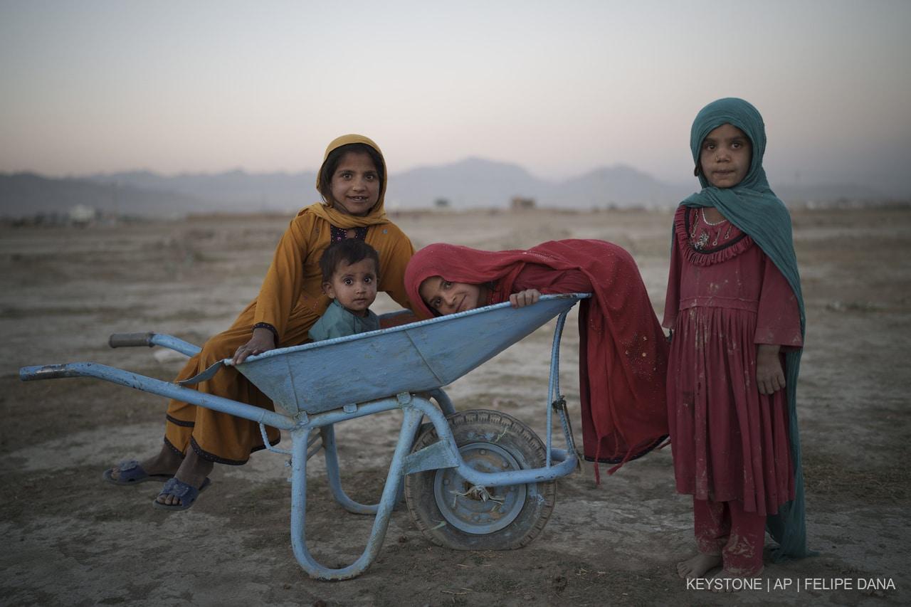 Afghanistan, un mois plus tard : déjà 3 millions de francs collectés