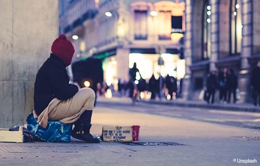 Un soutien pour les sans-abri et personnes exclues en Suisse